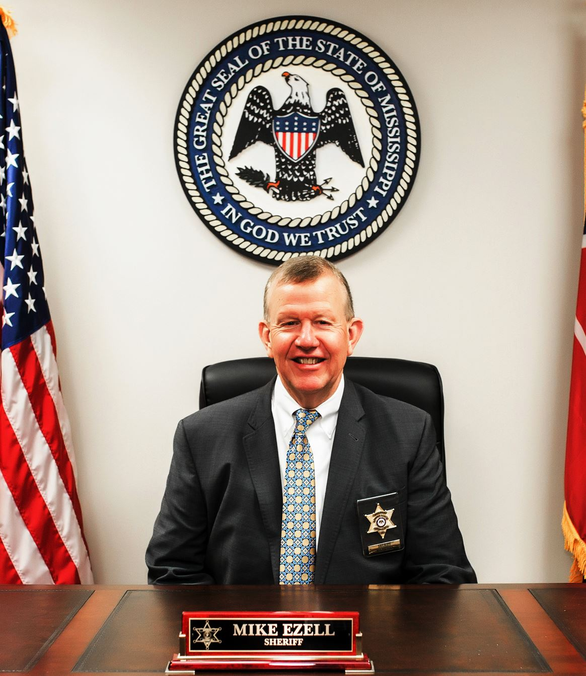 Sheriff Mike Ezell