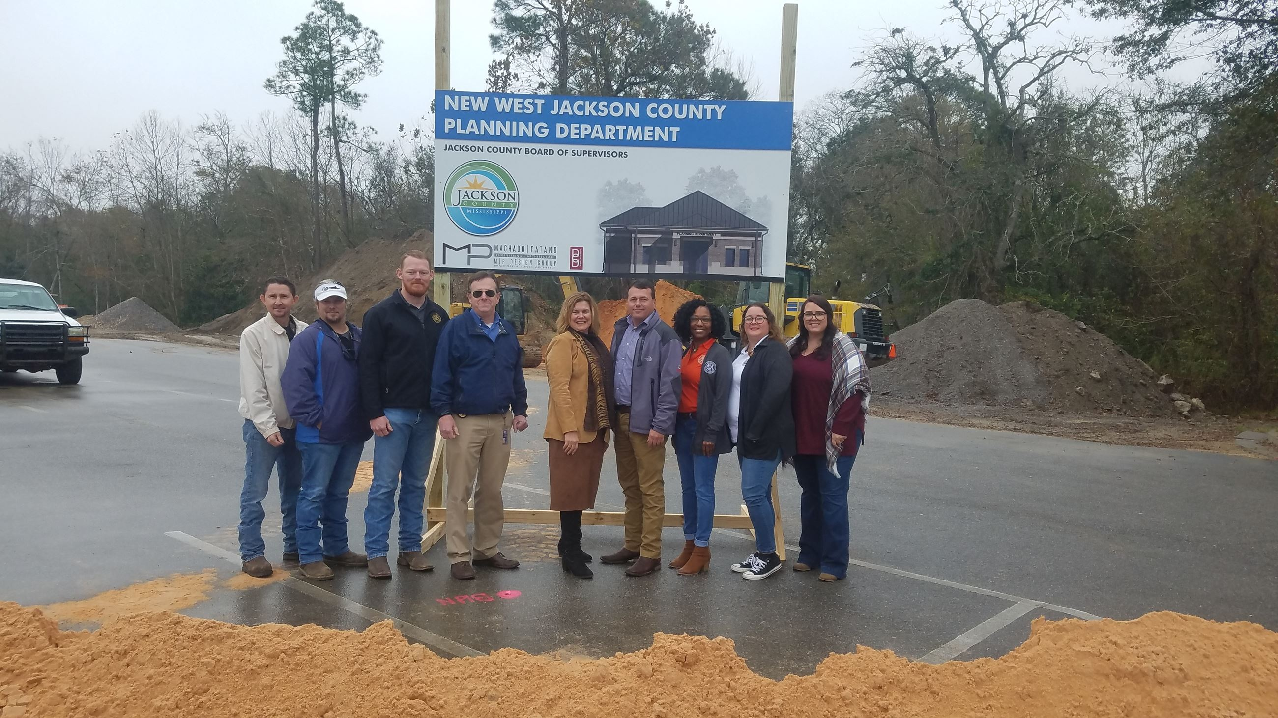 WJC Planning Groundbreaking - department